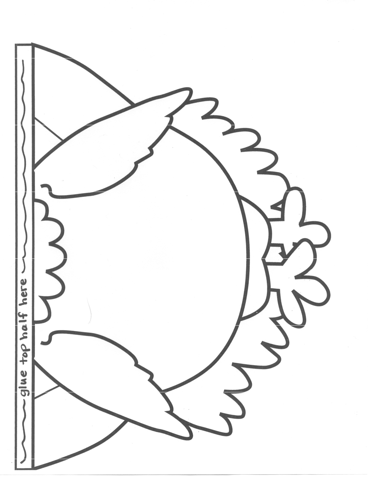 famiily turkey project outline printable scope of work