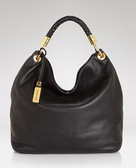 2a8679276980 Michael Kors Skorpios Large Shoulder Bag Black Leather  Michael Michael Kors  gg2012259  -  209.99   Michael Kors Outlet