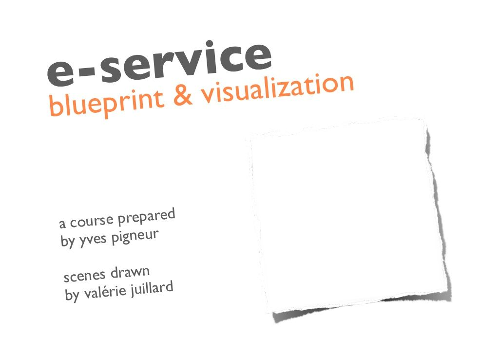 Service blueprint by yves pigneur via slideshare design thinking business design service blueprint by yves pigneur via slideshare malvernweather Choice Image