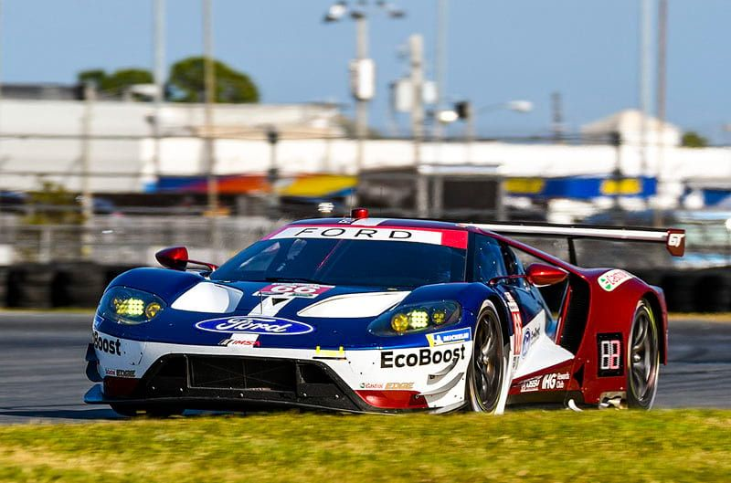 Motorn Ford Gt Shows Off A New Look For  At Daytona Testing