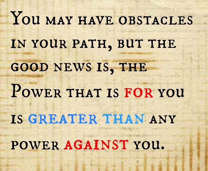 Power For you is Greater Than the Power against you