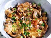 Photo of Pleasant Pork Chop & Portabella Casserole-Pleasant Pork Chop…