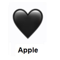 Meaning Of Black Heart Emoji Black Heart Emoji Heart Emoji Black Heart