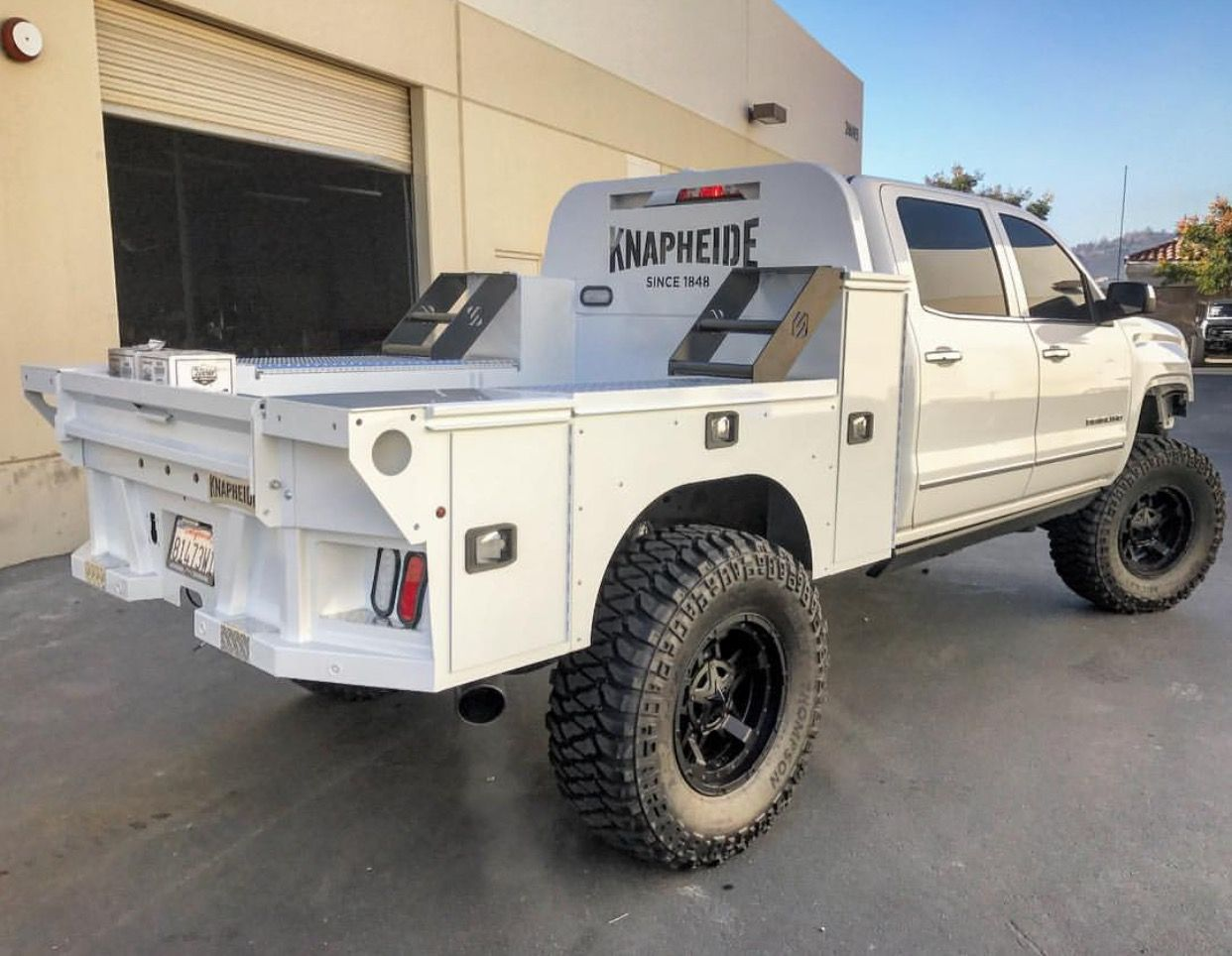 Chevy Silverado Custom Truck Beds Truck Flatbeds Flatbed Truck