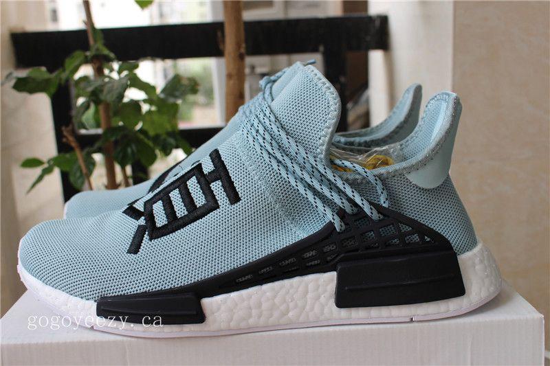 66f4a74f244e Adidas NMD Human Race Light Green AC7190 Jordan Shoes Online
