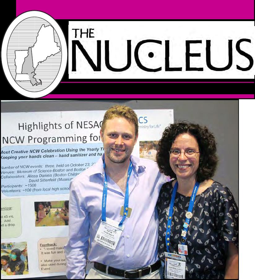 #NESACS The Nucleus Newsletter Oct 2012