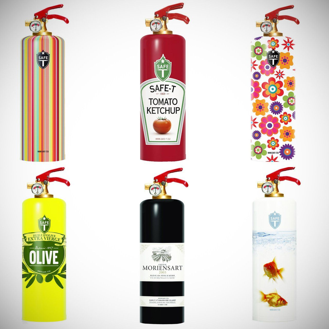 Designer Fire Extinguishers Nail Salon And Spa Extinguisher