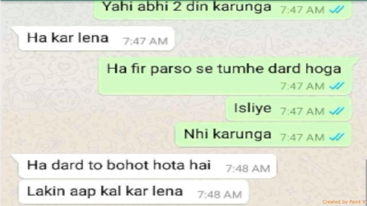 Husband Wife whatsapp chat Check more at https//www