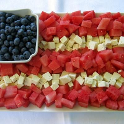 For the 4th, easy and good for you    Images of 4th of July food - Google Search