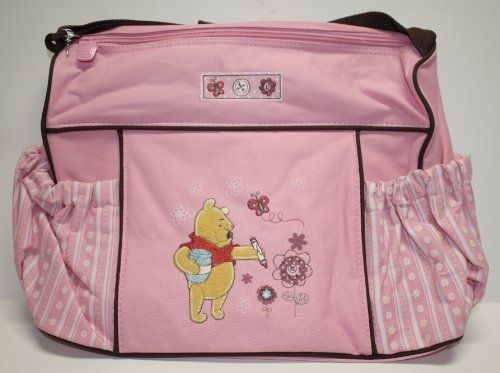 Disney Baby Winnie The Pooh Deluxe Pink Diaper Bag for ...  Winnie The Pooh Baby Bag