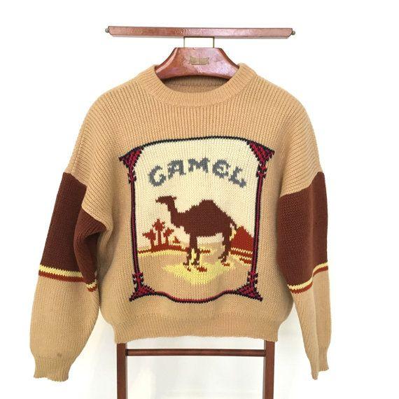 63f4d44c1 vintage Camel Cigarettes sweater