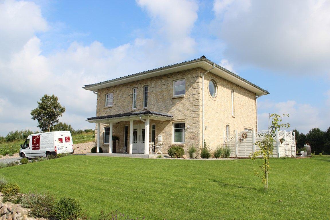 Stadtvilla klinker  Stadtvilla zweigeschossig mit modernem Mauerwerk - Seemann Haus ...