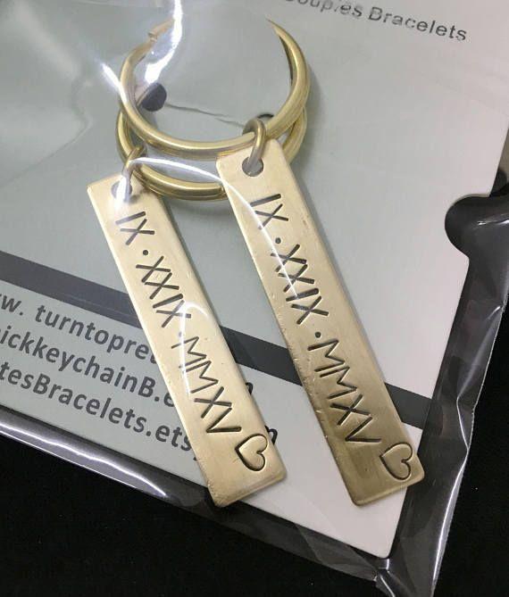 personalized keychain custom roman