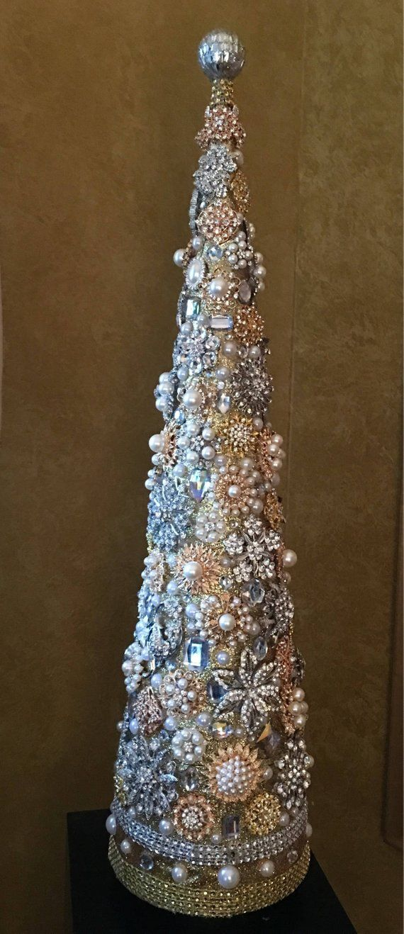 26 inch Jeweled tree | Products | Pinterest | Christmas, Jewelry ...