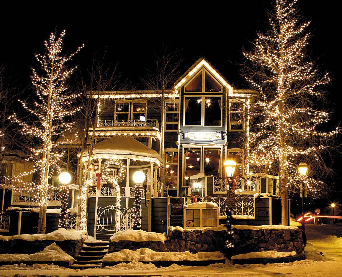 The Hearthstone Restaurant Lights Up Breckenridge Colorado