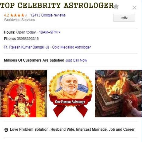 Rk Bangali ji is the worldwide famous astrologer provide services in