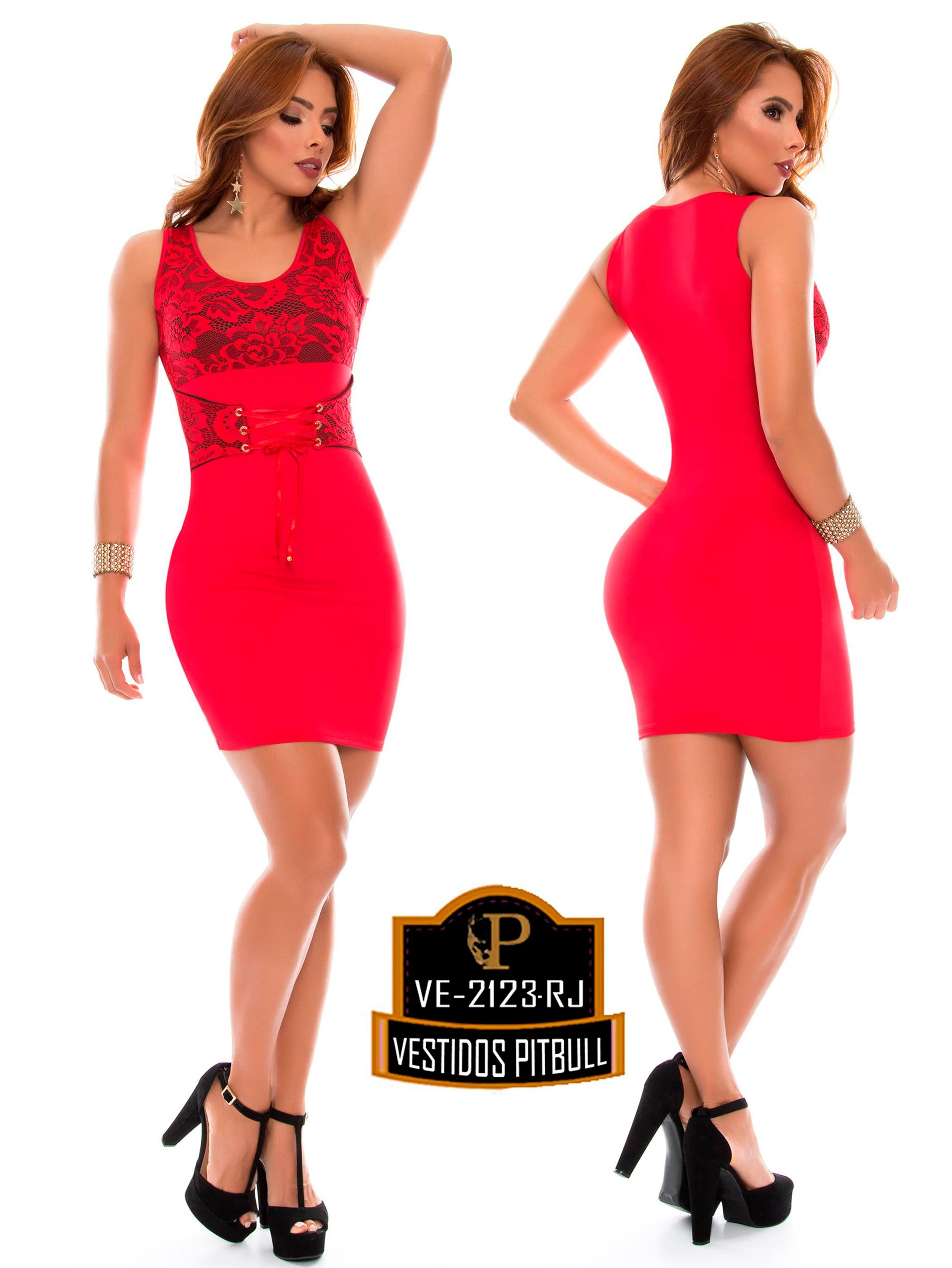 Pitbull colombian buttlifting jumpsuit et red in bzns