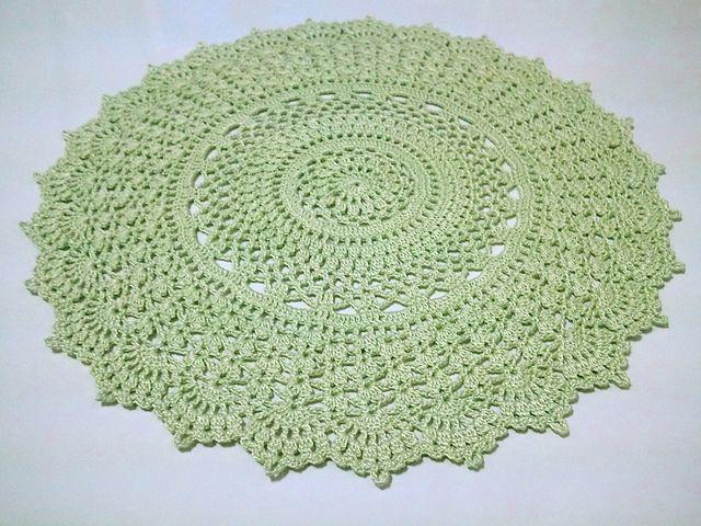 Ravelry: Summer Splendor free doily pattern.. (I used pumpkin ...