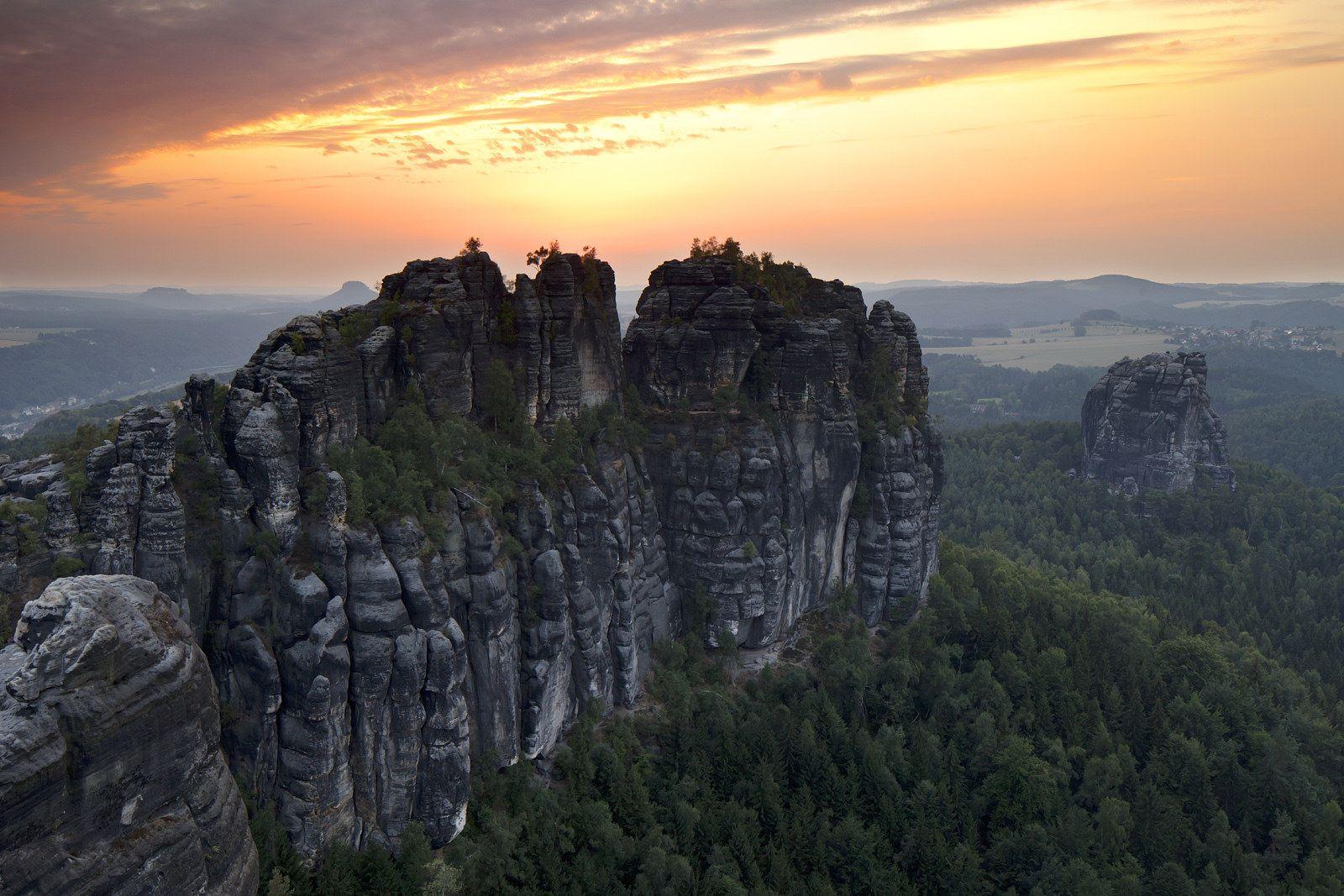 https://flic.kr/p/xATitm   Sandstone cliffs in Saxon Switzerland