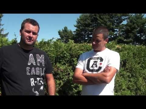 2013 Ontario Faces of Farming Calendar - February - Justin & Jeff: mink farmers