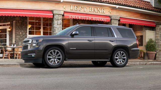 2016 Tahoe Full Size Suv Tungsten Metallic Chevrolet