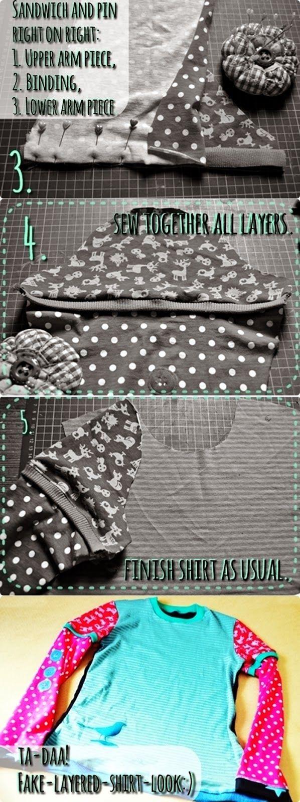 bienvenido colorido mini tutorial lagenlook ge faked sewing tutorial n hen diy n hen und. Black Bedroom Furniture Sets. Home Design Ideas