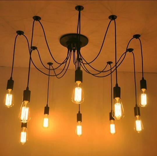Nordic Retro Spider Pendant Light Accessories In 2020 Light Accessories Pendant Light Pendant Lamp