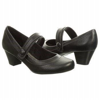 8c02affaa1fa Look chic and stylish in the Ready Mary Jane from LifeStride.Faux leather  upper in a dress Mary Jane style with a round toeSnap closure on vamp  strapSmooth ...