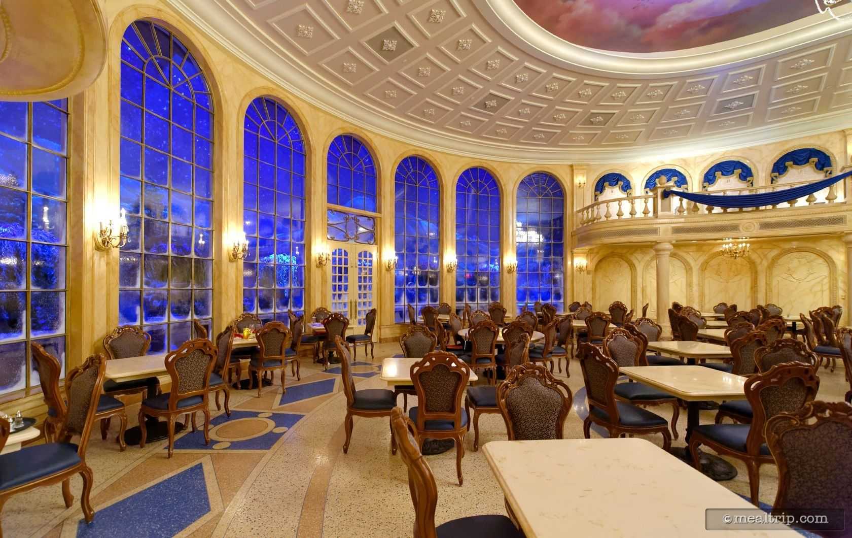 Magic kingdom be our guest restaurant breakfast hotel