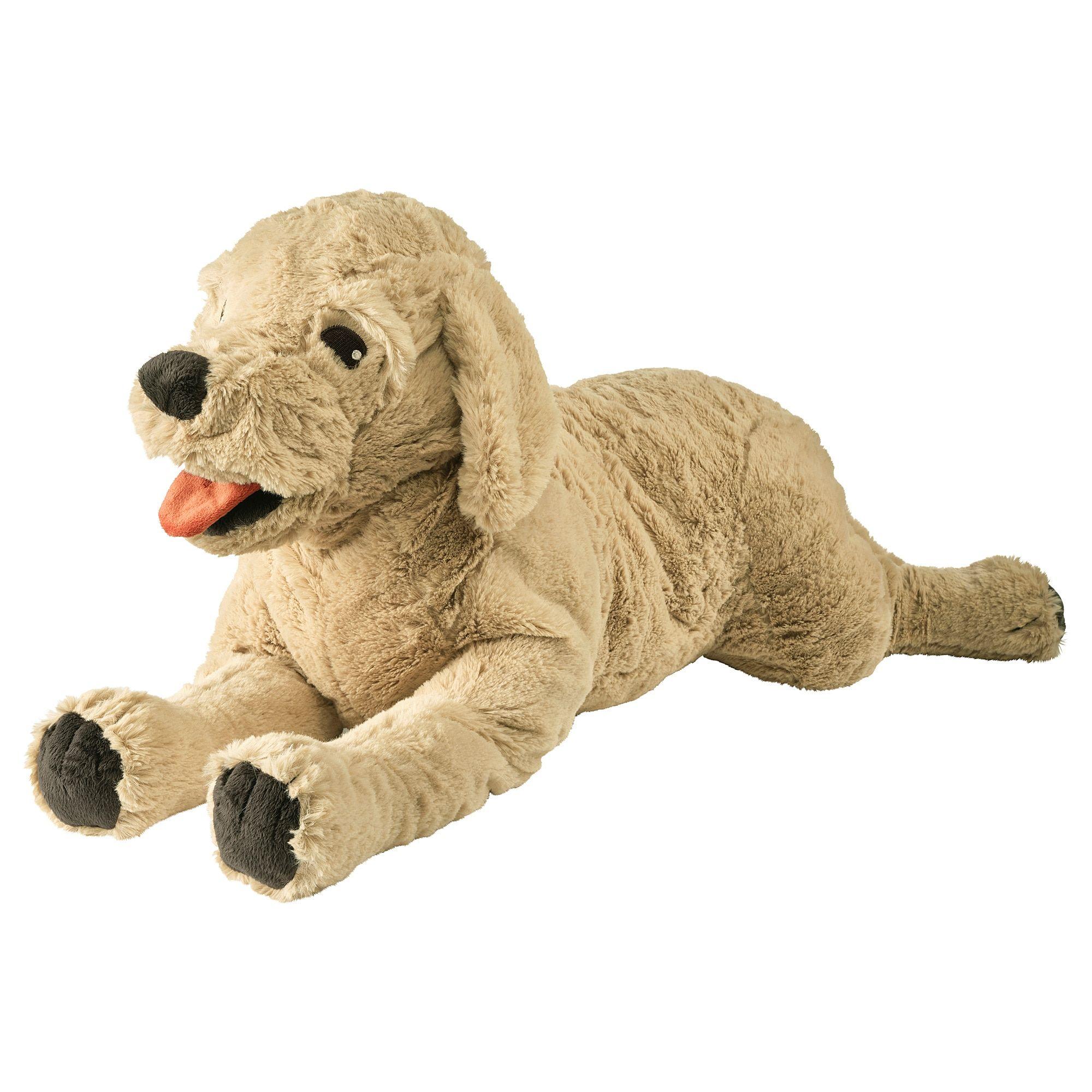 Ikea Gosig Golden Dog Yellow Golden Retriever Soft Toy Dog Toys