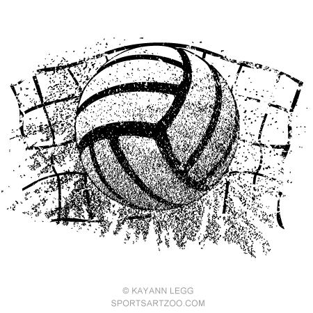 Sand Volleyball Grunge Ball And Net Sportsartzoo Volleyball Wallpaper Volleyball Designs Volleyball Tattoos