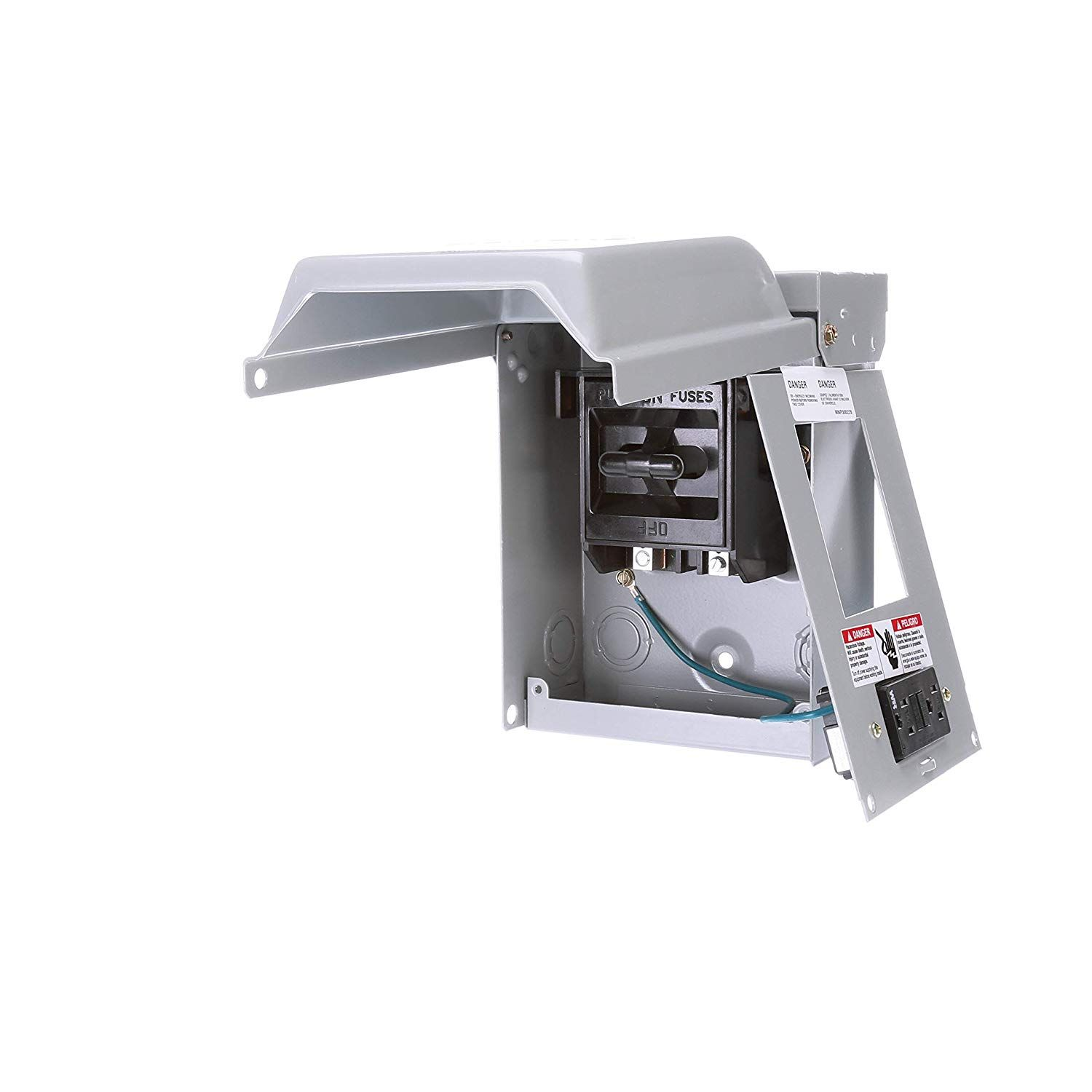 Siemens Wf2030gfci 30 Amp Fusible Ac Disconnect With Gfi Receptacle Want Additional Info Click On The Image This Is An Affil Siemens Circuit Receptacles