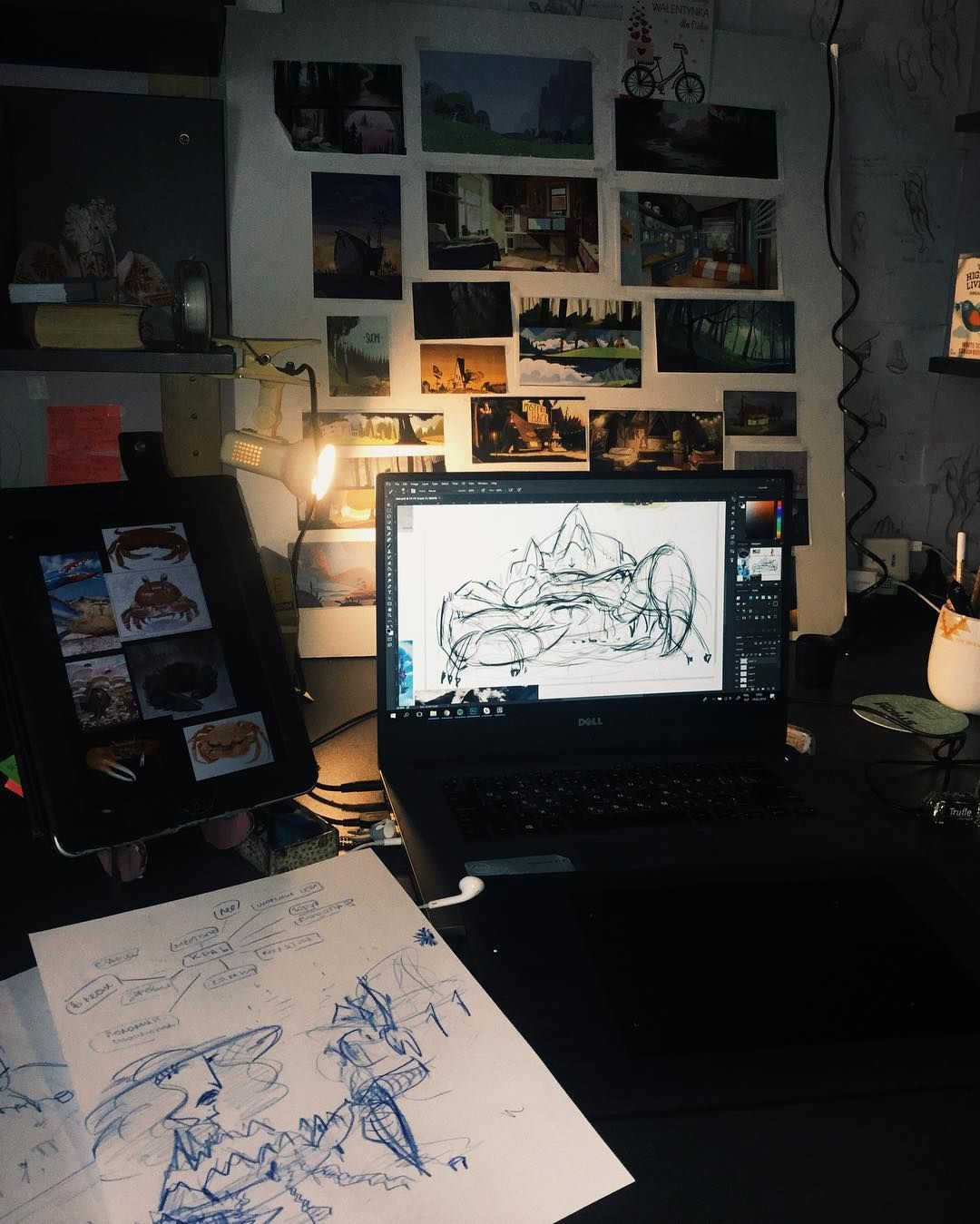 Decided to share my workspace with you