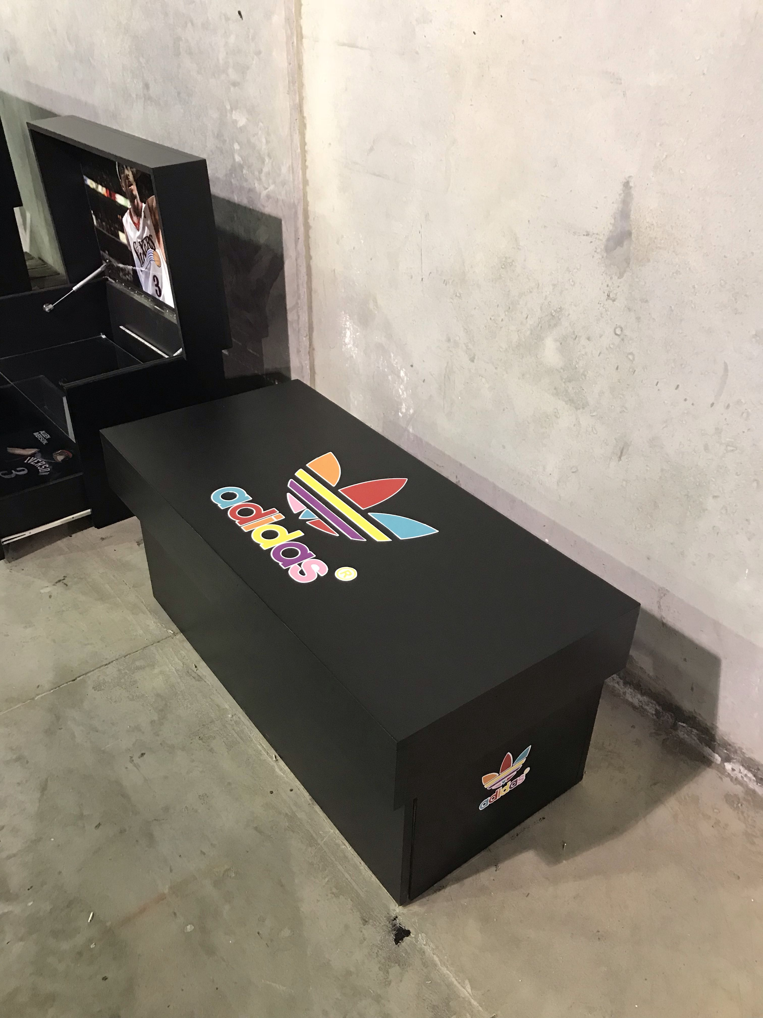 very colorful box with black magic background 😎😎 | shoe