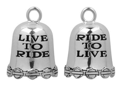 Harley davidson live to ride ride bell home deco harley