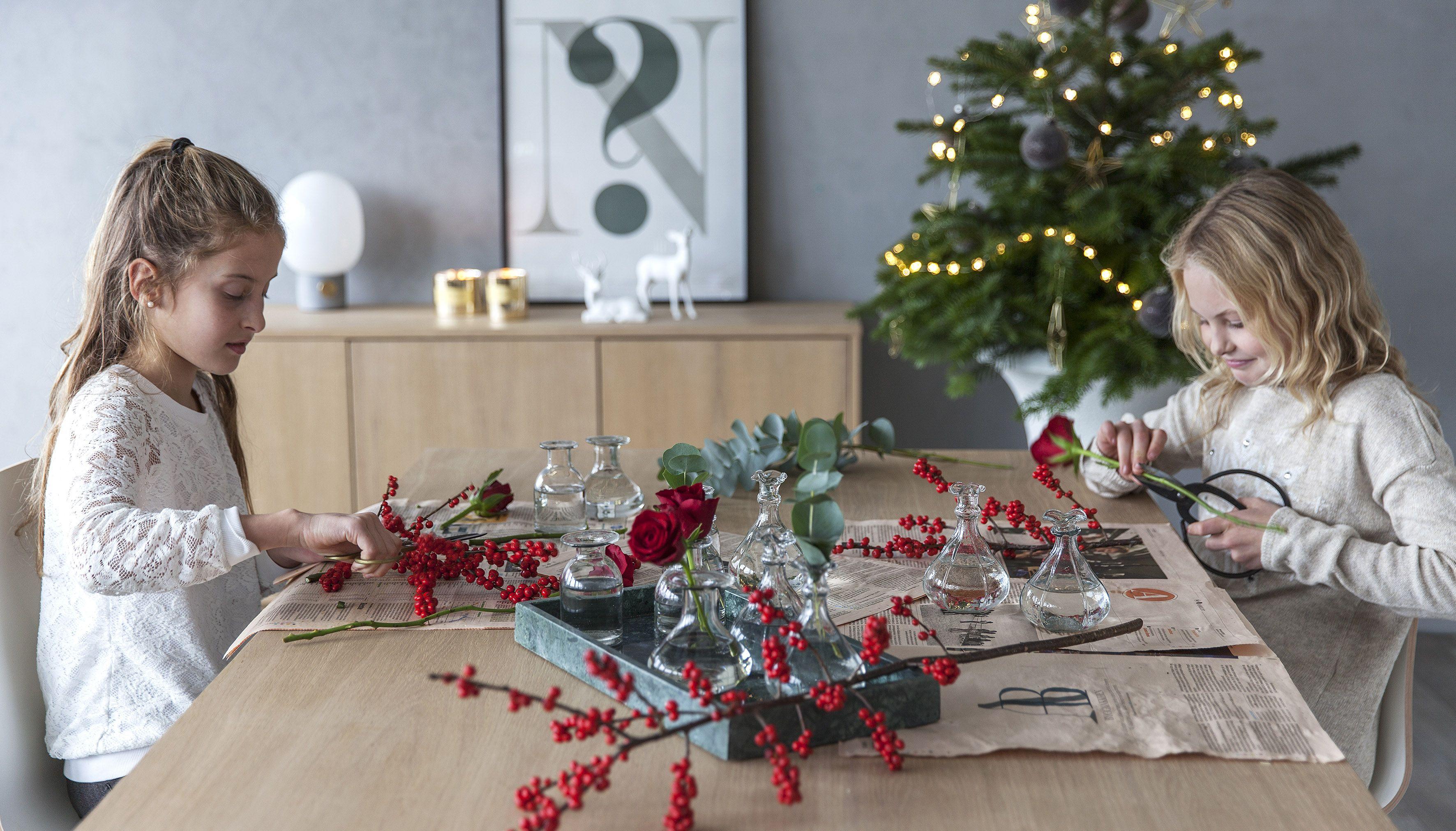 6 enkle blomsterarbeid til juleverkstedet   Inspirasjon fra Mester Grønn