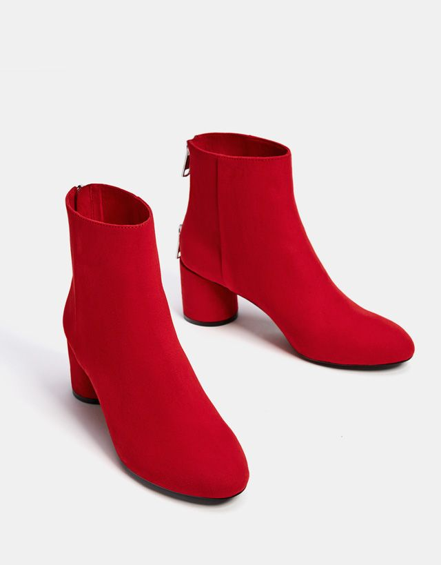 29b8a5ad92d8 Boots & Ankle boots - SHOES - WOMAN - Bershka United States | Codeux ...