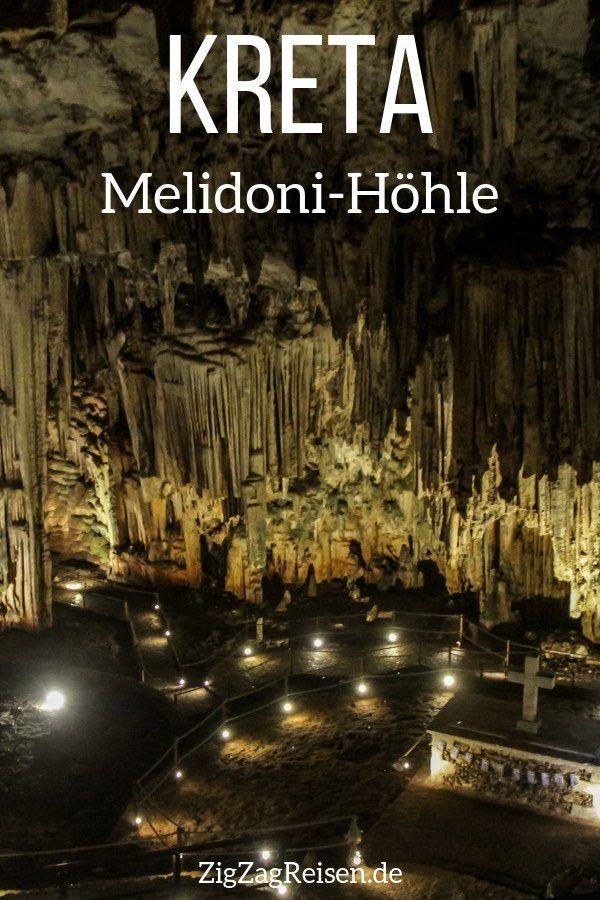 Melidoni-Höhle (Kreta) - Fotos + Reisetipps #traveltogreece