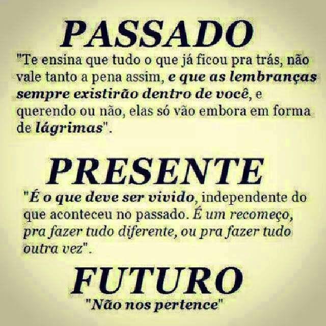 Passado Presente Futuro Frases Licao De Vida Frases