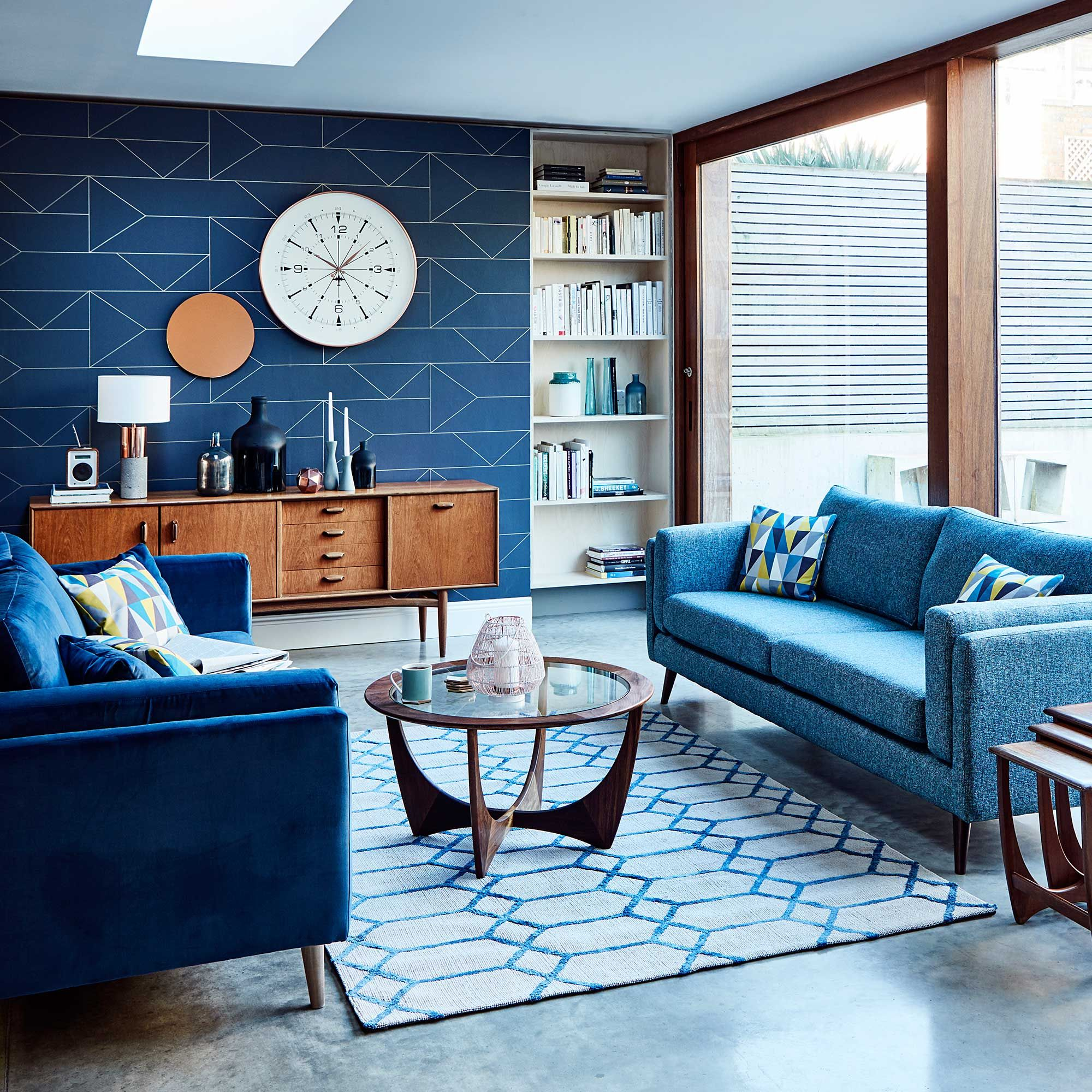 Juni Large Sofa Available Online At Barker Stonehouse Browse Our Fabulous Range Today Blue Couch Living Room Living Room Sofa Living Room Color Schemes