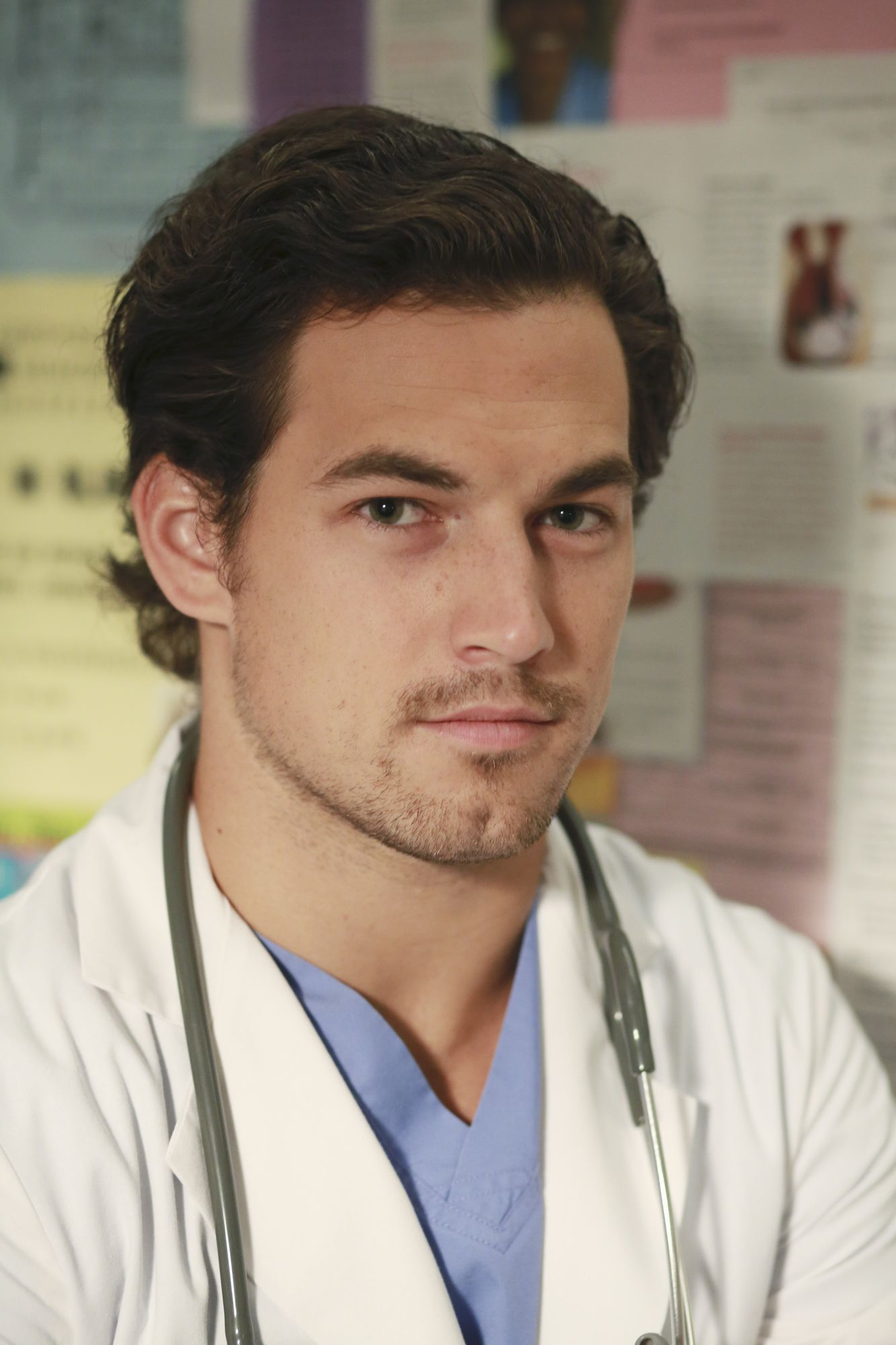Giacomo Gianniotti as Dr. Andrew DeLuca in Grey\'s Anatomy | Reel ...