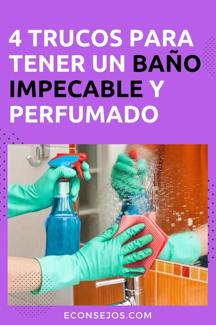 4 Trucos Que Dejarán Tu Baño Reluciente Con Productos Caseros Como Limpiar Los Baños Como Limpiar Vidrios Limpieza De Inodoros