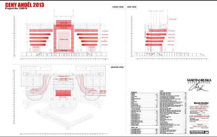 Martin Hruska Concert Stage Design Stage Design Lighting Design