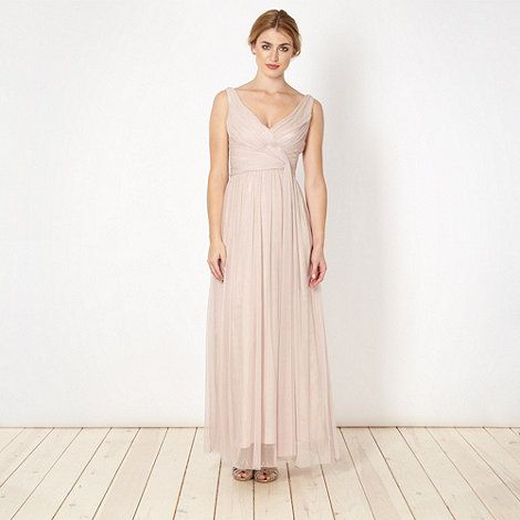 Debut Rose Maxi Dress At Debenhams
