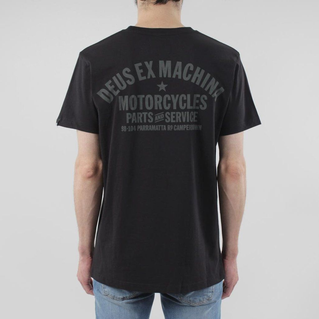 dd4297c36 Deus Ex Machina Bald Terrier V-Twin T-shirt   Clobber   Pinterest ...