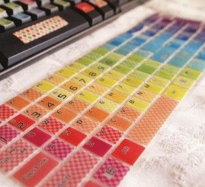 graphic relating to Printable Keyboard Stickers referred to as Do-it-yourself keyboard stickers gadgetsworldhq Keyboard stickers
