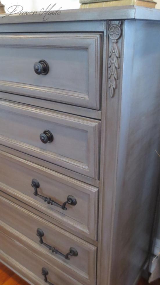 Best How To Glaze Furniture Bronze Gray Dresser Rustic 400 x 300