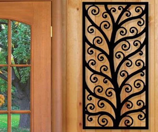 Iron · Wrought Iron Wall Designs ...