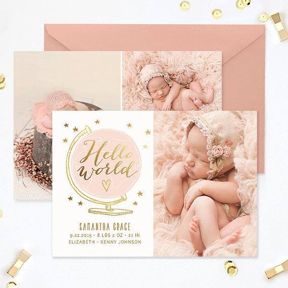 birth announcement template birth announcement girl birth announcement template boy photography templates photoshop template ba180