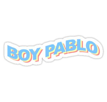 Boy Pablo Sticker By Grandshabby Pablo Music Stickers Pop Stickers